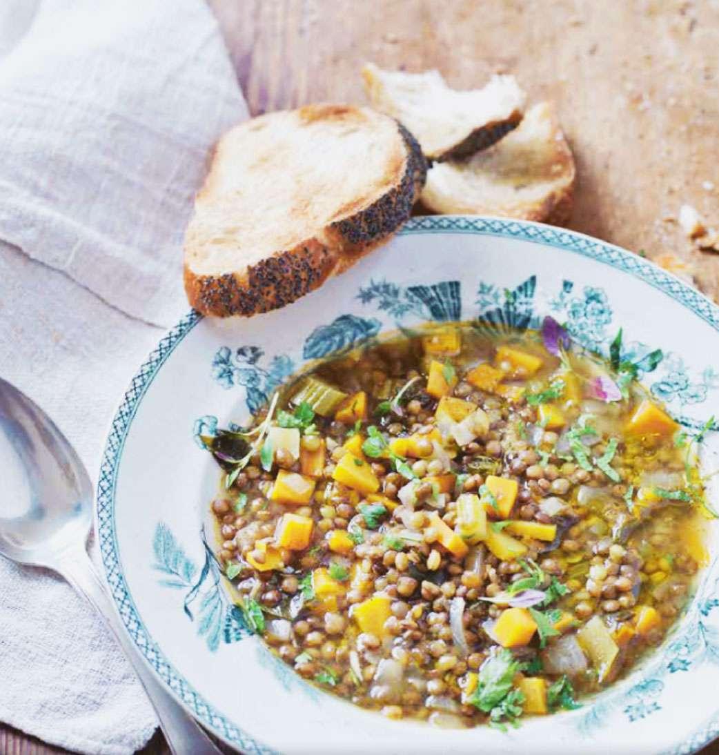 Grekisk linssoppa